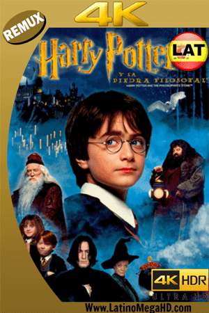Harry Potter y la Piedra Filosofal (2001) Latino Ultra HD BDREMUX 2160P ()
