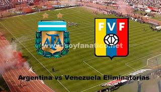 Argentina vs Venezuela Eliminatorias Brasil 2014