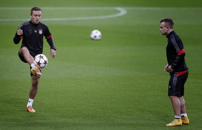 Xherdan Shaqiri Bakal Hengkang Di Bayern Munchen