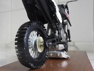 Roda Traseira Lander 250- Presente Criativo