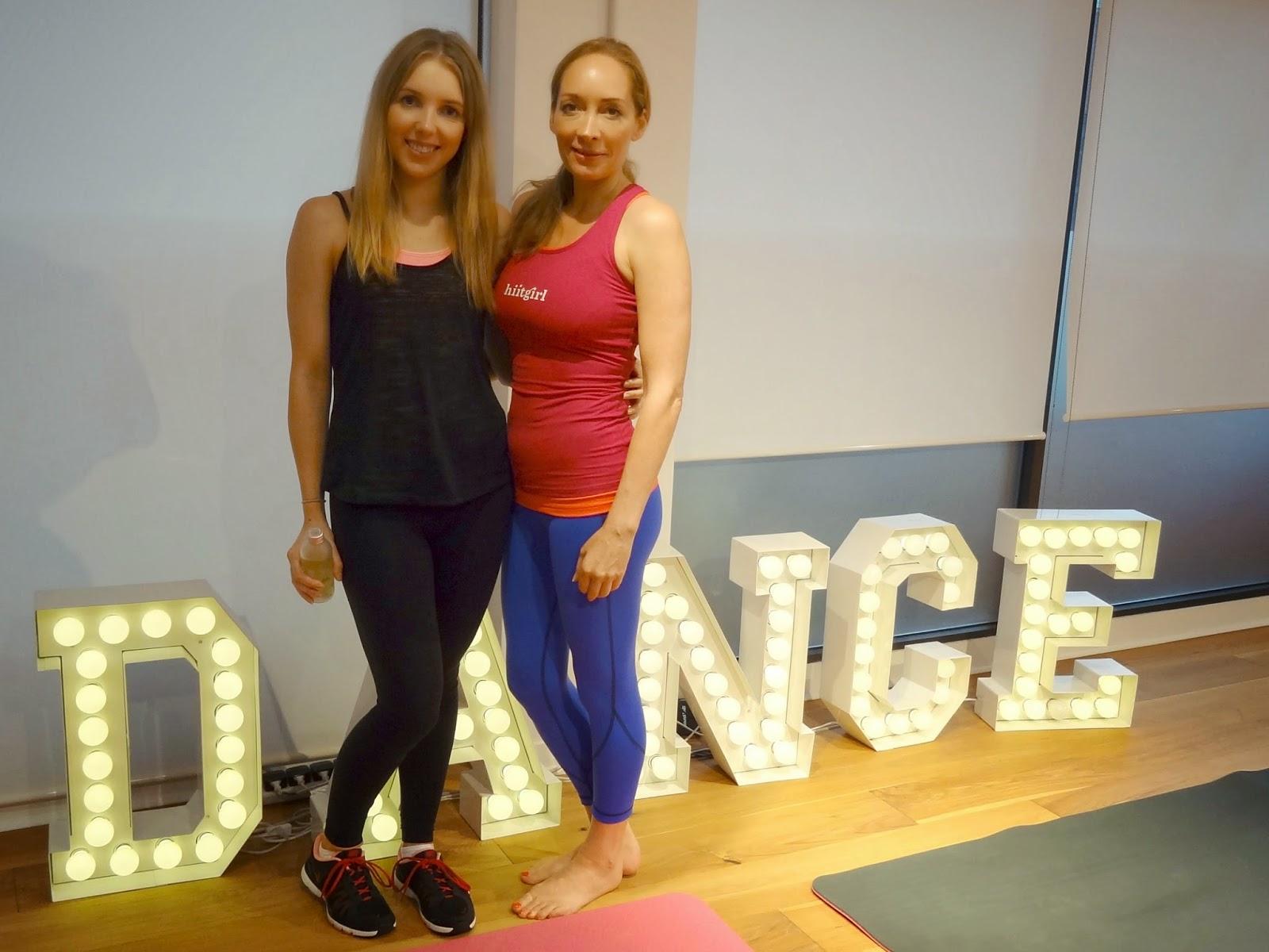 Sweaty Betty GF4F 30 Day Sweat Challenge Launch Natalie Susan Hiitgirl