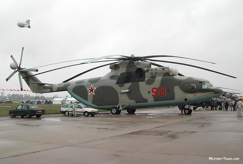Mil-26 HALO Heaviest Helicopter