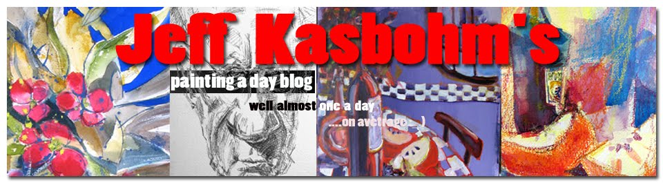 Jeff Kasbohm's Painting A Day Blog