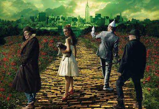Soñando bajo el arcoiris: Annie Leibovitz : El Mago de Oz