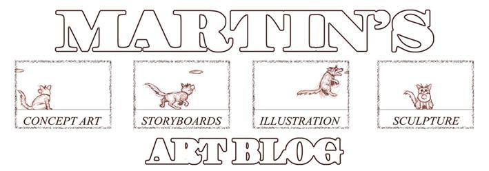 Martin's Art Blog