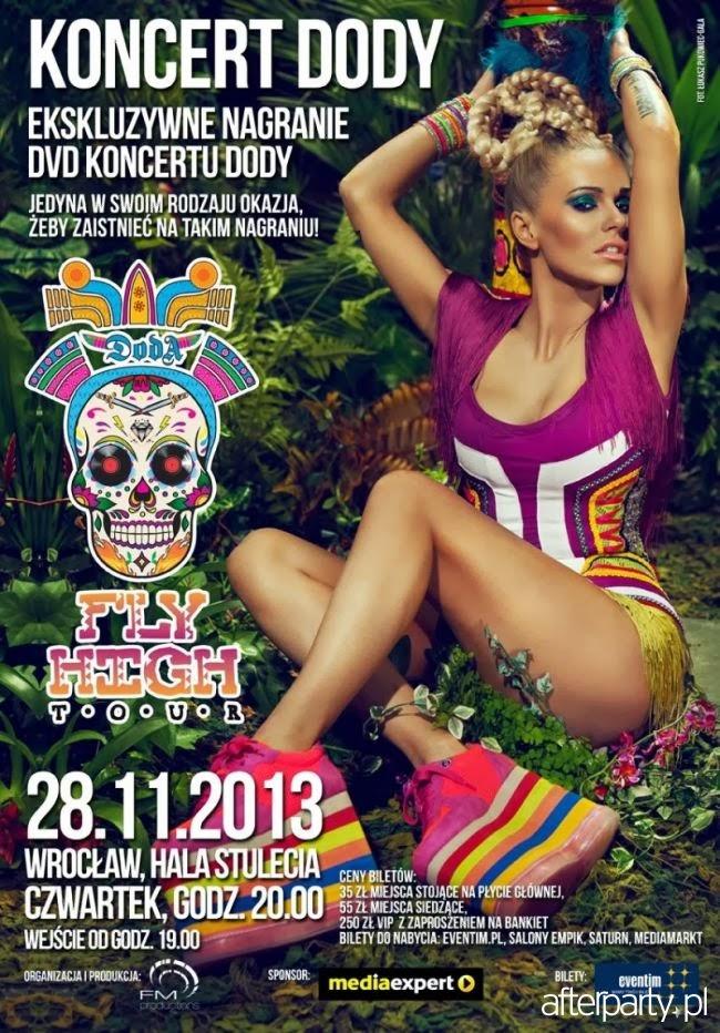 DVD Fly High Tour - WROCŁAW