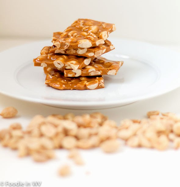 Click for recipe for Caramel Peanut Brittle