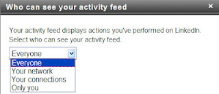 who can see your activity broadcasts on LinkedIn, LinkedIn activity broadcasts,