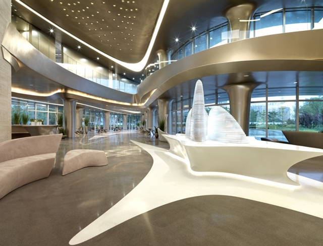 wangjing soho office and retail complex in beijing by zaha hadid architects modern architecture interior office21 architecture