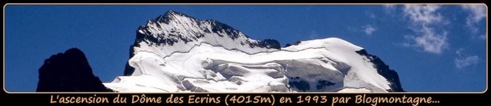 ➽ L'ascension du dôme des Ecrins (4015m) en 1993 par Blogmontagne ~