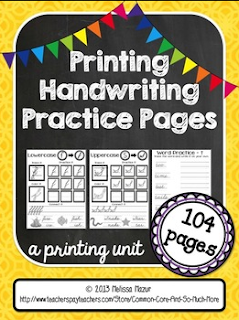 http://www.teacherspayteachers.com/Product/Printing-Handwriting-Practice-Pages-130-Pages-730174