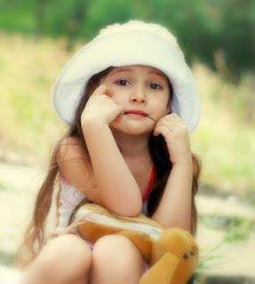 Cute Little Girl Profile
