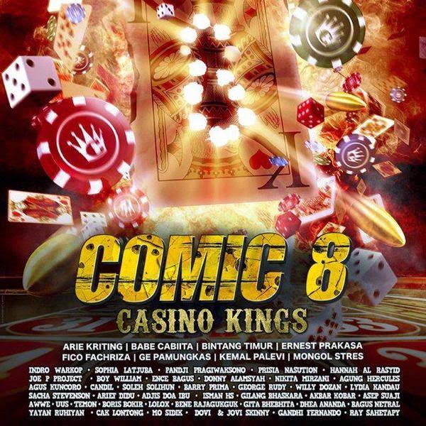 Film Comic 8 Casino Kings 2015