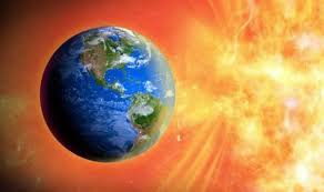 Tormenta geomagnética provocada por una anomalia solar.