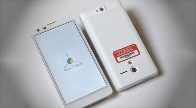 Google Tango smartphone