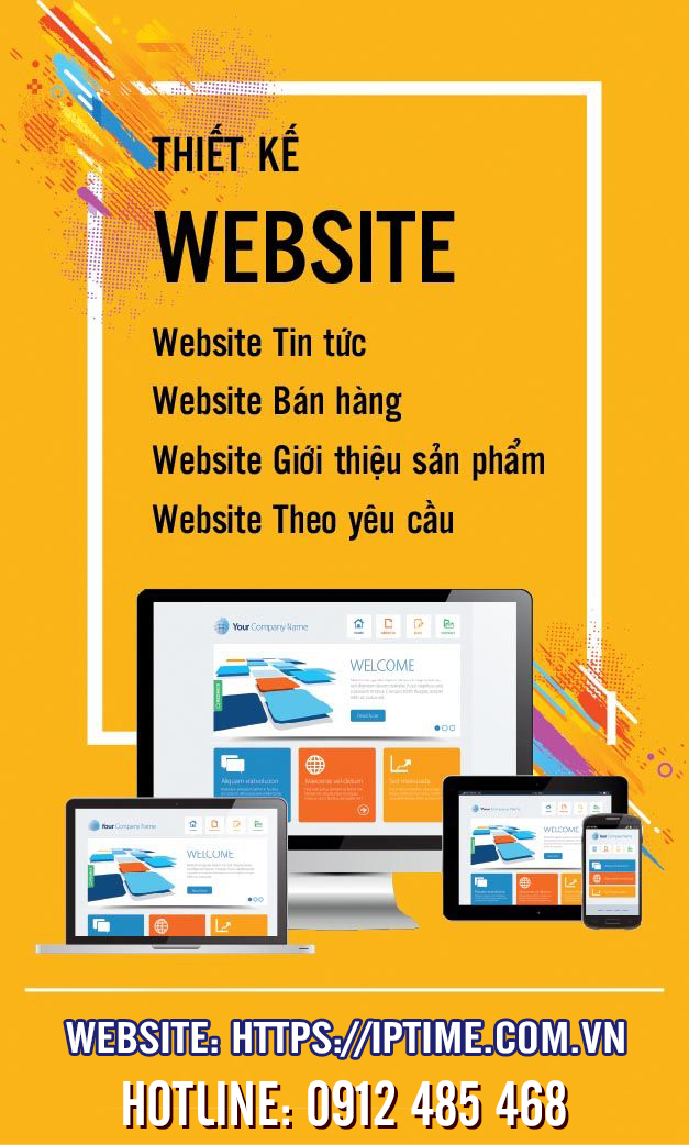 thiết kế website chuyên nghiệp tại Bắc Ninh