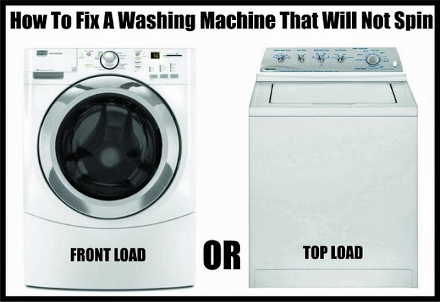 washing machine wont spin