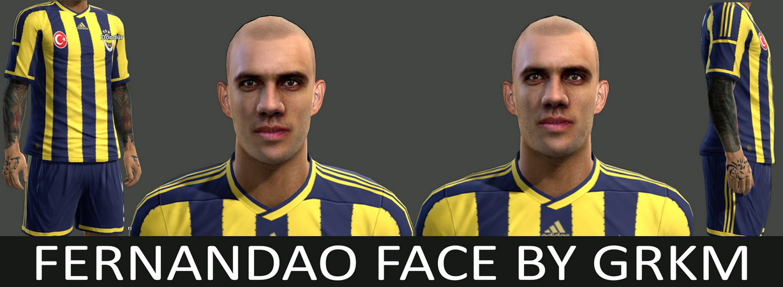 Pes 2013 Fernandao Face By Grkm Pes Pes Evolution Soccer