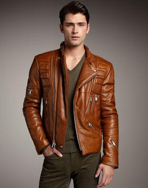 Classy Men: Leather jackets