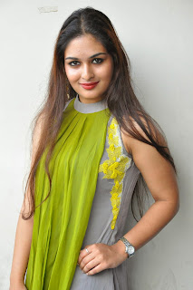 Actress Prayaga Martin Latest Picture Gallery at Pisachi Movie Success Meet 024.JPG