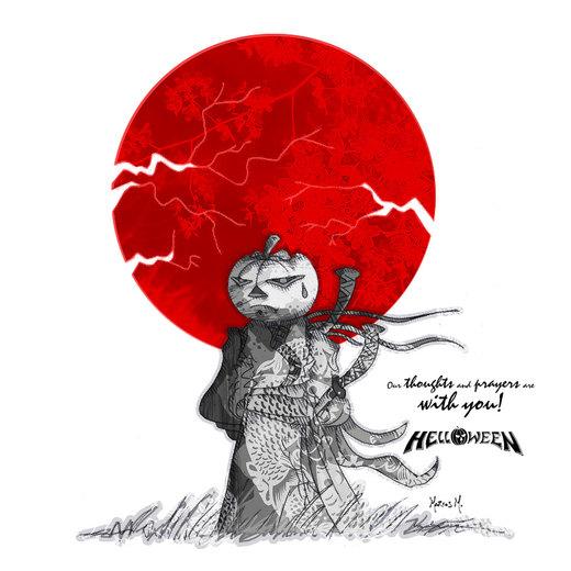 Helloween - Japan por StigmataMarcos