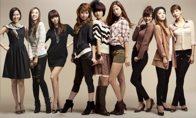 Personil Girlband Korea Tercantik - Nine Muses