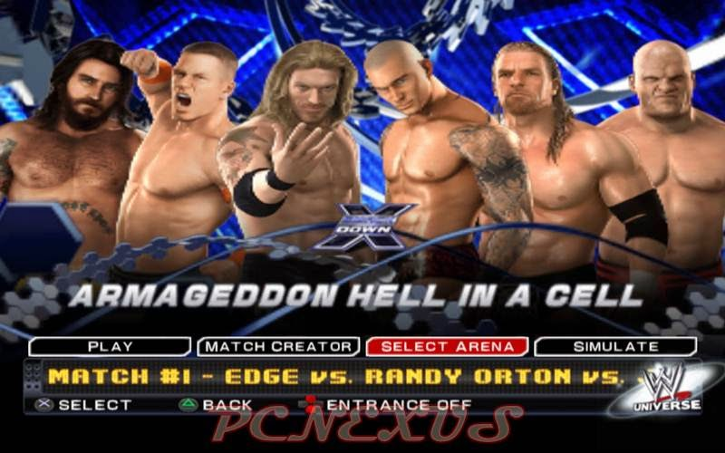 Smackdown VS Raw 2011 on windows 7