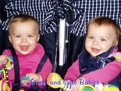 twin, girl, baby