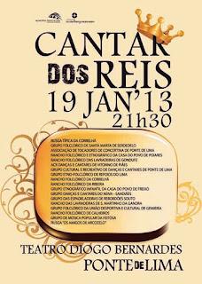Cantar dos Reis - Teatro Diogo Bernardes - Ponte de Lima