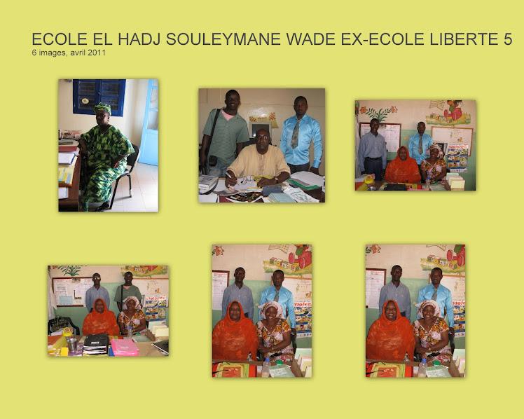 Ecole El Hadj Souleymane Wade Ex-école Liberté 5