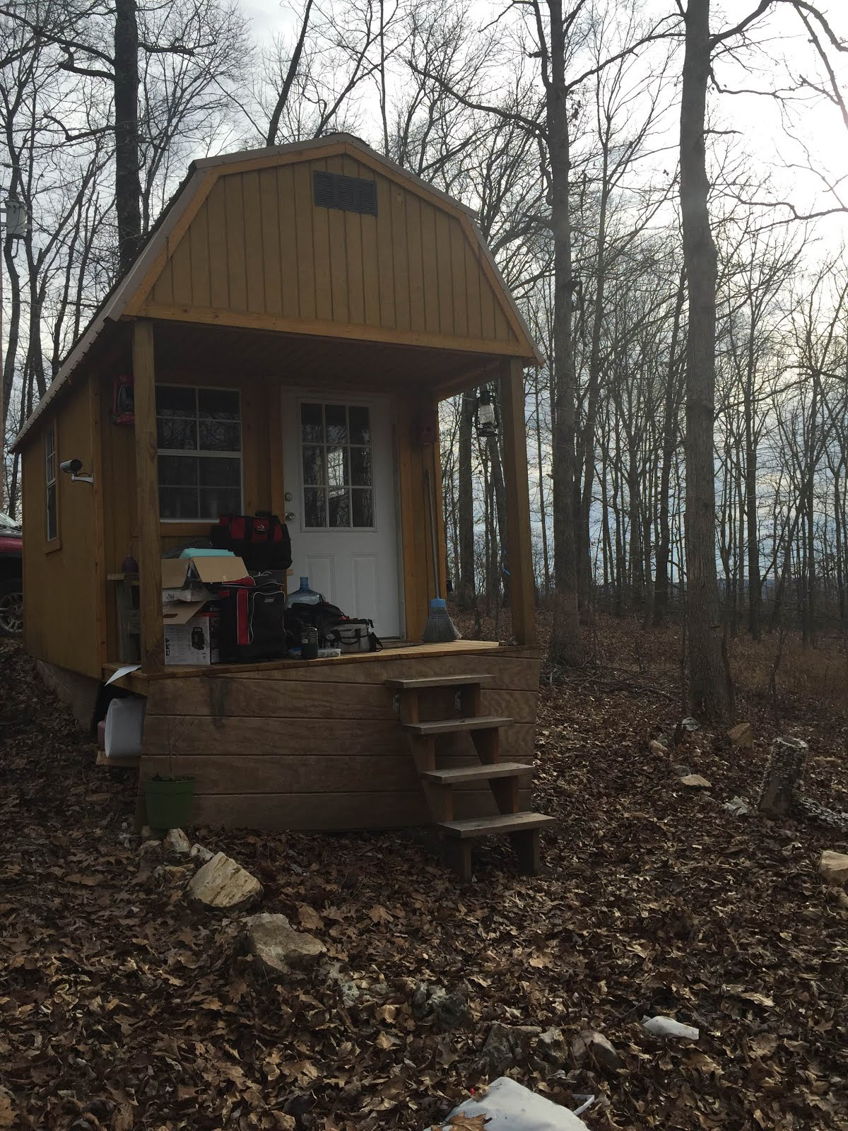 Our Tiny Cabin located in Piedmont Missouri