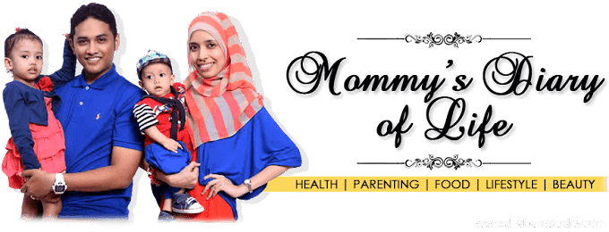 Tempahan Design Header Blog Mommy's Diary of Life
