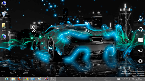 Super Car Theme For Windows 8