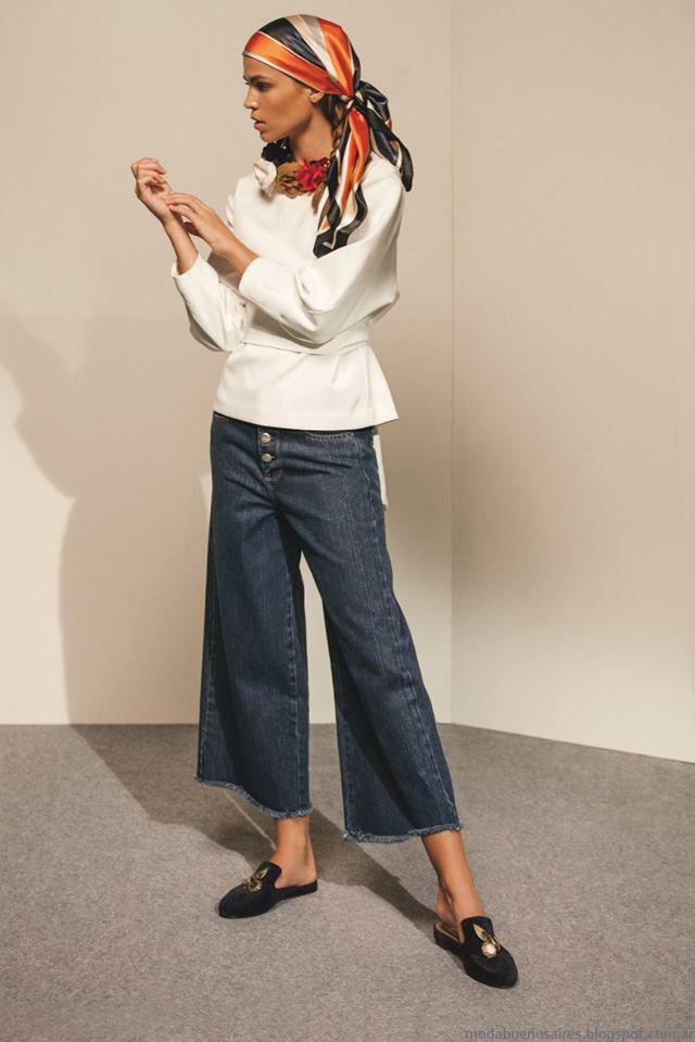 María Cher otoño invierno 2016. Moda otoño invierno 2016 jeans.