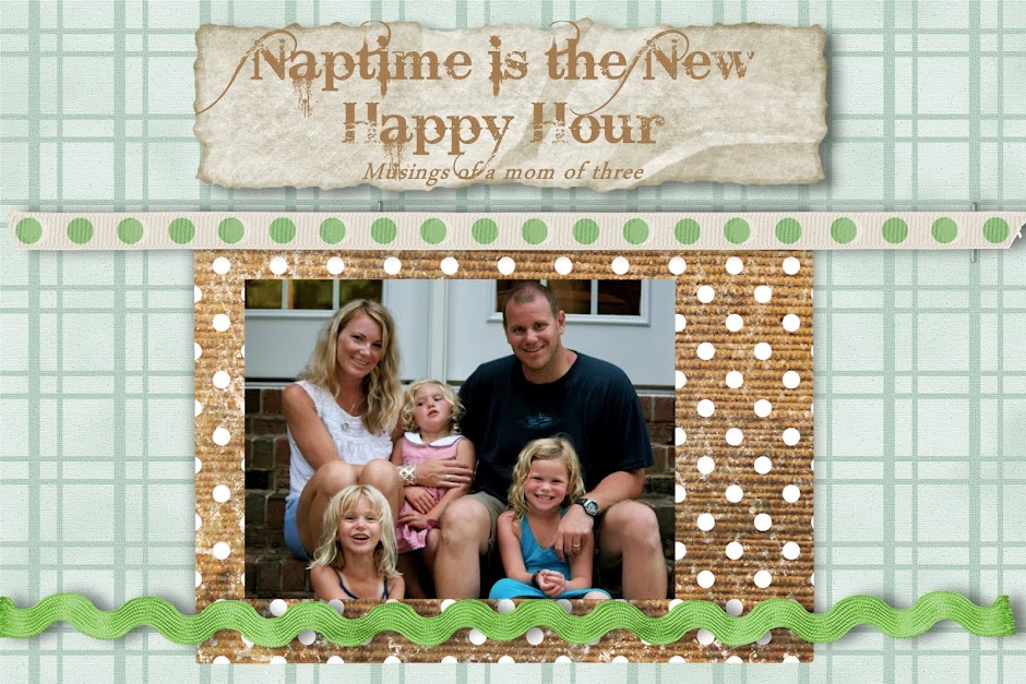 Naptime is the New Happy Hour....