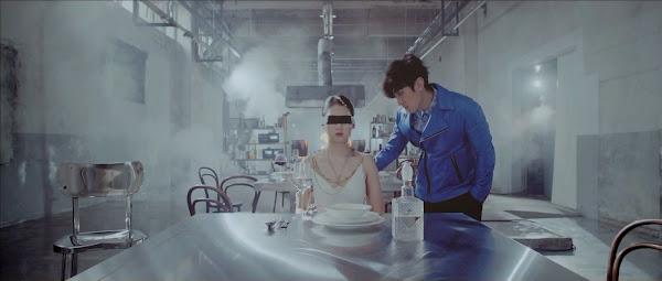 Shinhwa's Dongwan in the Sniper Music Video