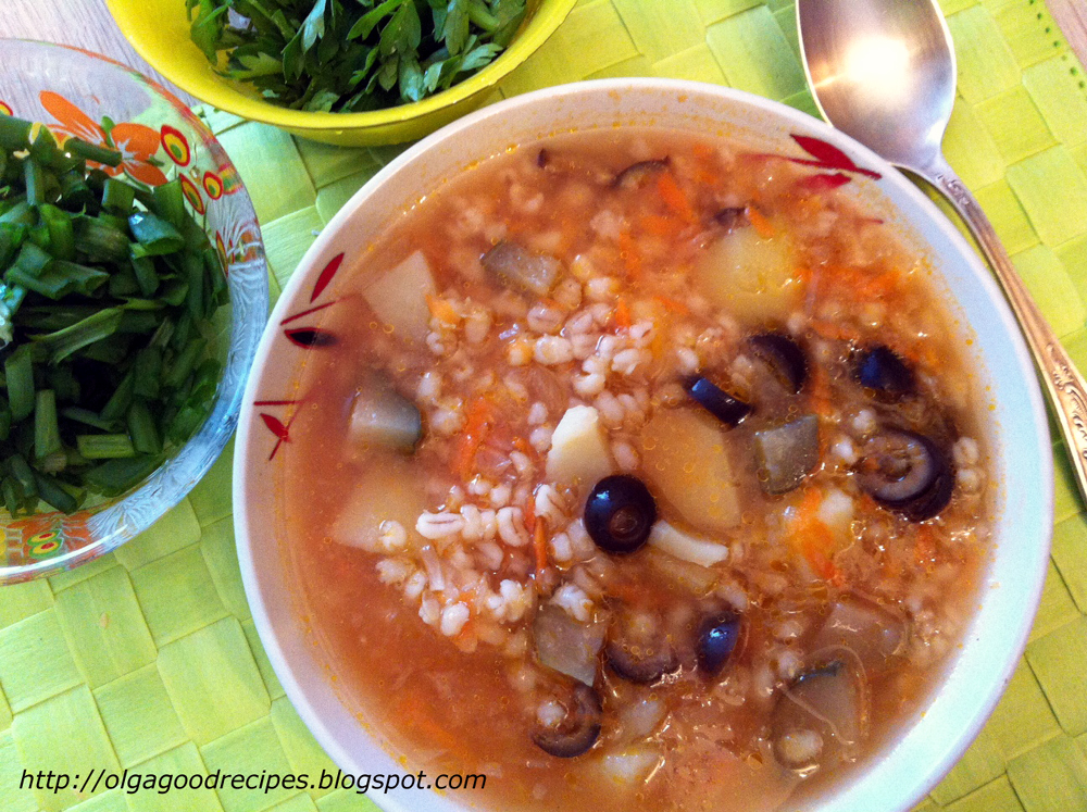 Турецкий суп с булгуром и чечевицей (суп невесты)