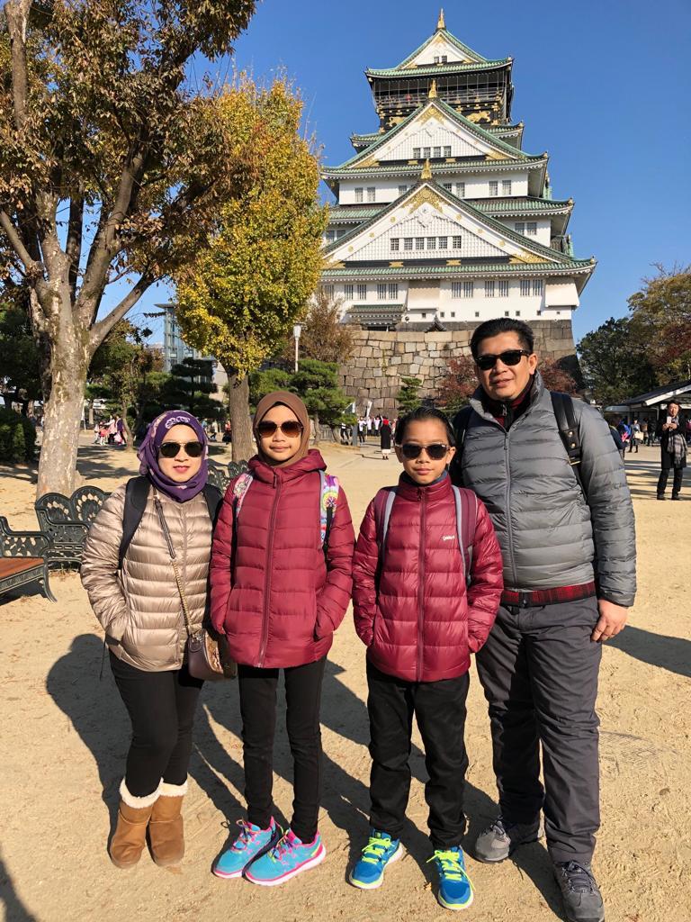 Osaka Jepun 2018