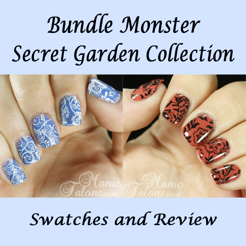 Bundle Monster Stamping Plate Secret Garden Collection Review