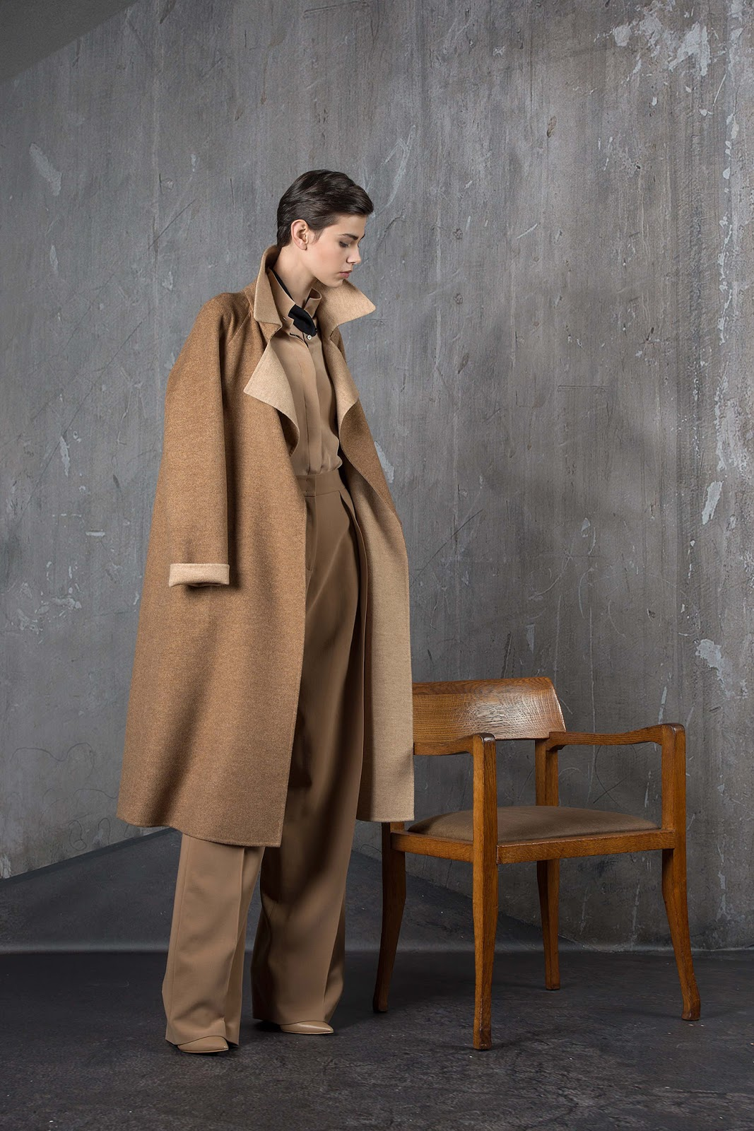 via fashioned by love | Akris Pre-Fall 2015 | camel trends | 2015