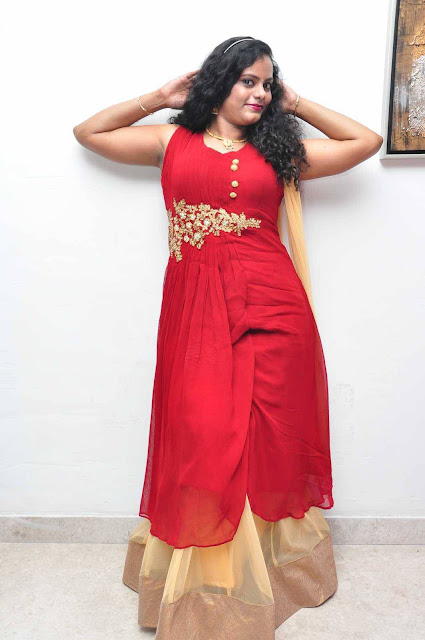 Beautiful Asha Chowdary Latest Photos In Red Alert Movie Audio Launch