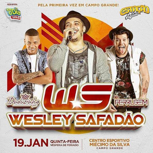 Wesley Safadão em Campo Grande - RJ 19 de Janeiro 2017