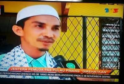 Boikot Kempen PKR Di Permatang Pauh Ketua Pemuda PAS P Pinang Mohd Yusni Mat Piah Didakwa Mempunyai Agenda Peribadi