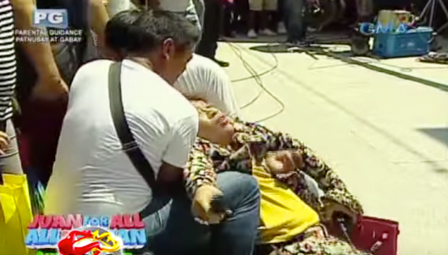 Donya Nidora pass out during the problem solving segment