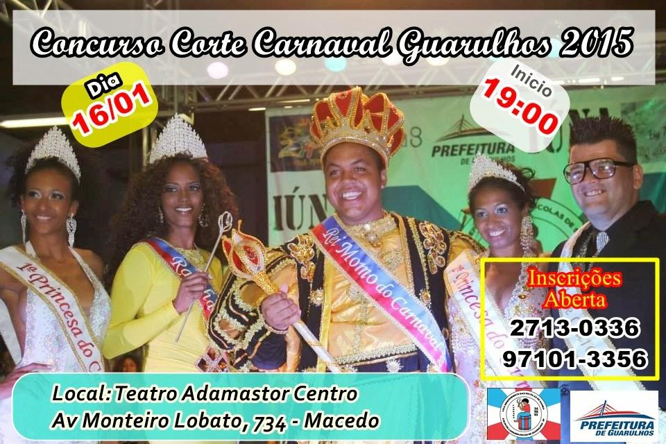 CONCURSO CORTE CARNAVAL GUARULHOS 2015