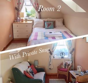 ROOM 2 DOUBLE ENSUITE & PRIVATE SNUG