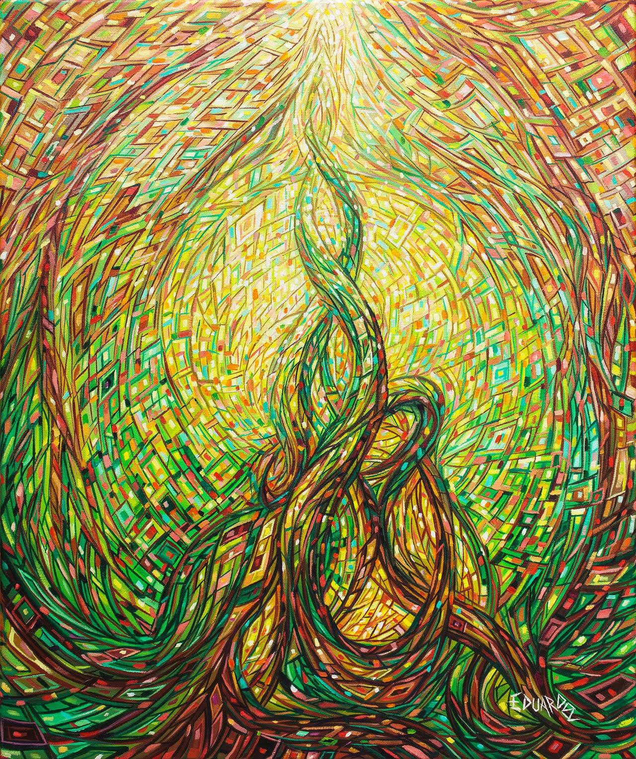 09-Seed-Eduardo-R-Calzado-Paintings-in-Swirls-of-Colour-www-designstack-co