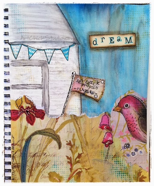 Art Chick Studio Dream Art Journal