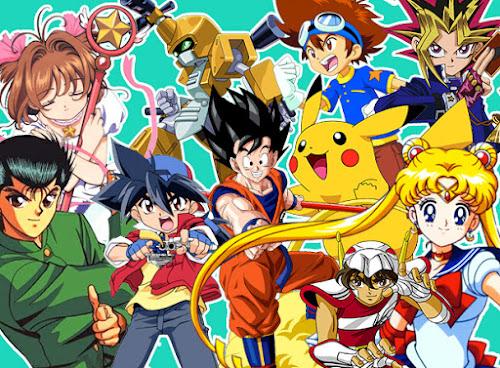 Live - Animes que marcaram nossas vidas e muito mais