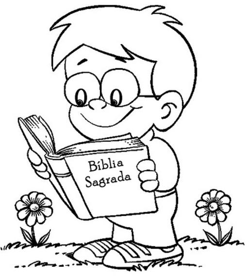 Desenhos b blicos para colorir e imprimir toda atual for Read and share bible coloring pages